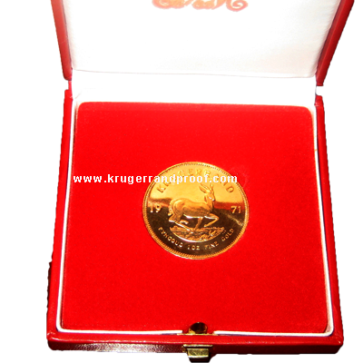 Proof Krugerrand South Africa Mint Box
