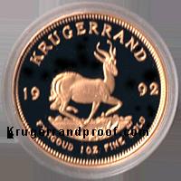 1992-Proof -Krugerrand