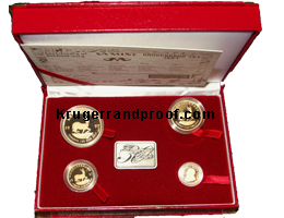 Red box of 1997 proof krugerrans
