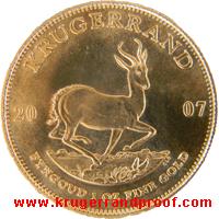 Krugerrand 2007