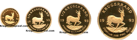1993-Proof Krugerrand -set