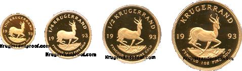 1993-Proof Krugerrand -set