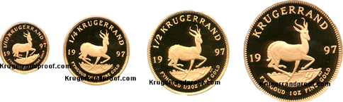 Proof Krugerrand-set